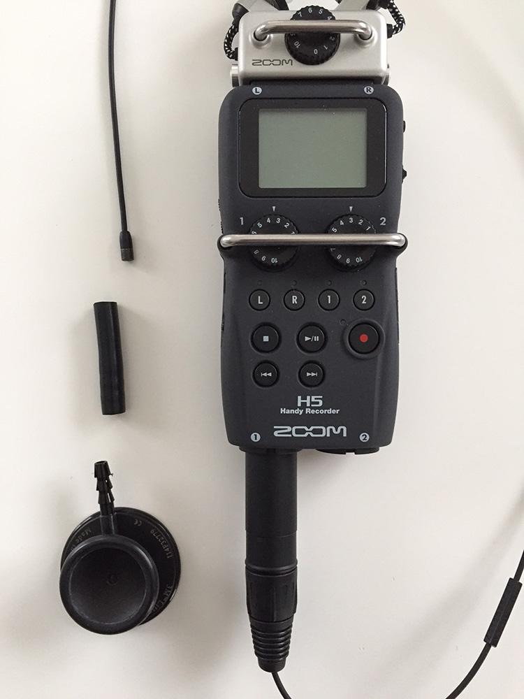 Good setup to record heartbeat sounds
